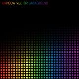 Fondo astratto dell'arcobaleno di vettore Fotografie Stock Libere da Diritti