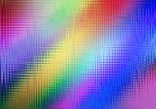 Fondo astratto dell'arcobaleno per progettazione, di effe leggero colorato multi Fotografia Stock