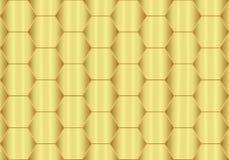Fondo astratto dell'oro con metallico Fotografia Stock Libera da Diritti