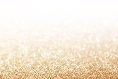 Fondo astratto dell'oro di scintillio Fotografie Stock