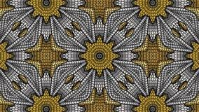 Fondo astratto dell'oro e dell'argento per la progettazione dei tessuti, Fotografia Stock Libera da Diritti