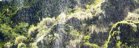 Fondo astratto della cascata Immagine Stock Libera da Diritti