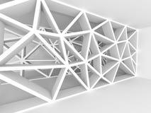 Fondo astratto della costruzione di progettazione di architettura Fotografia Stock Libera da Diritti