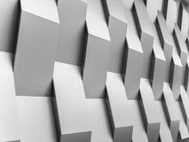 Fondo astratto della decorazione della geometria della parete del fondo Fotografia Stock