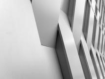 Fondo astratto della decorazione della geometria della parete del fondo Fotografia Stock Libera da Diritti