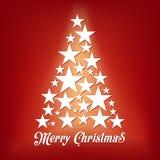 Fondo astratto della disposizione di Buon Natale di vettore Per progettazione di arte del buon anno, lista, pagina, stile di tema Immagine Stock Libera da Diritti