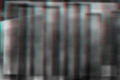 Fondo astratto della fotocopia, impulso errato Fotografie Stock