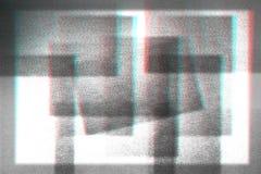 Fondo astratto della fotocopia, impulso errato Fotografia Stock