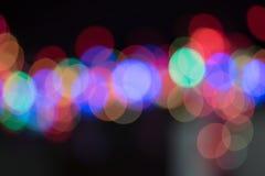 Fondo astratto della luce del bokeh variopinto Immagine Stock