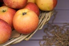 Fondo astratto della mela Immagini Stock