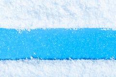 fondo astratto della neve di struttura fotografia stock libera da diritti