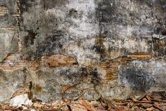Fondo astratto della parete di rovina Fotografia Stock