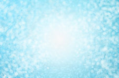 Fondo astratto della sfuocatura - bello fondo blu del bokeh illustrazione di stock