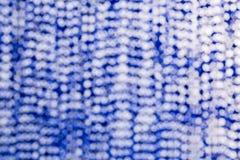 Fondo astratto della stuoia blu Fotografia Stock