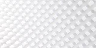 Fondo astratto delle forme geometriche tridimensionali Struttura bianca con le ombre molli Fotografie Stock Libere da Diritti