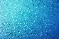 Fondo astratto delle gocce di acqua Fotografie Stock