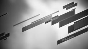 Fondo astratto delle linee in bianco e nero archivi video