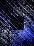 Fondo astratto delle linee blu diagonali di Digital rappresentazione 3d Fotografia Stock