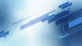 Fondo astratto delle linee verticali di vetro in blu stock footage