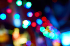 Fondo astratto delle luci defocused Fotografia Stock