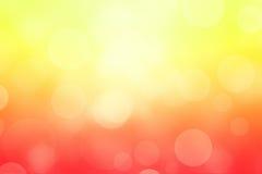 Fondo astratto delle luci della primavera Fotografie Stock
