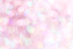 Fondo astratto delle luci morbide rosa-chiaro Fotografie Stock Libere da Diritti