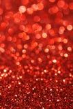 Fondo astratto delle luci morbide rosse Immagini Stock