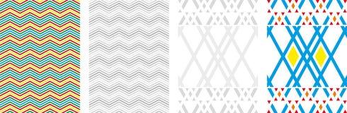 Fondo astratto delle scatole di vettore Illustrazione moderna di tecnologia con la maglia quadrata E illustrazione di stock