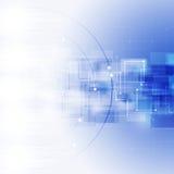 Fondo astratto di affari delle connessioni di rete Immagine Stock