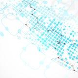 Fondo astratto di affari di tecnologia illustrazione vettoriale