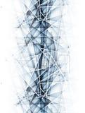 Fondo astratto di affari di tecnologia del ghiaccio della sfuocatura Fotografia Stock Libera da Diritti