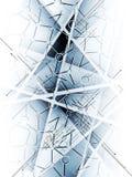 Fondo astratto di affari di tecnologia del ghiaccio della sfuocatura Immagini Stock