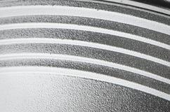 Fondo astratto di alluminio Fotografia Stock Libera da Diritti