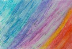 Fondo astratto di arte della pittura di colore di acqua Fotografie Stock