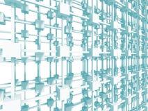 Fondo astratto di bianco della struttura della costruzione Fotografia Stock