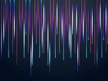 Fondo astratto di caduta della luce laser Colourful illustrazione vettoriale