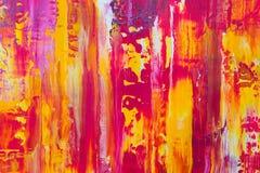 Fondo astratto di colore della pittura Immagine Stock