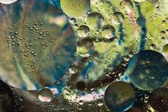 Fondo astratto di colore di acqua Immagini Stock Libere da Diritti