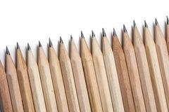 Fondo astratto di concetto dalle matite con spazio per testo o Fotografia Stock Libera da Diritti