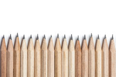 Fondo astratto di concetto dalle matite con spazio per testo o Fotografia Stock