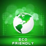 Fondo astratto di concetto di Giornata mondiale dell'ambiente, illustrazione Fotografia Stock Libera da Diritti