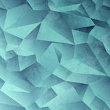Fondo astratto di cristallo Fotografia Stock Libera da Diritti