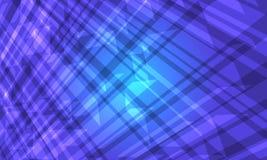 Fondo astratto di cristallo blu illustrazione di stock