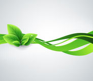 Fondo astratto di ecologia Immagine Stock Libera da Diritti