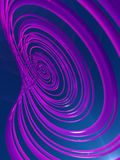 Fondo astratto di effetto delle strisce rappresentazione 3d Fotografia Stock