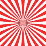Fondo astratto di esplosione solare dalle bande radiali Fotografia Stock Libera da Diritti