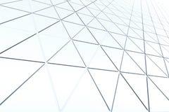 Fondo astratto di forma poligonale Immagine Stock Libera da Diritti