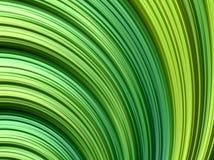 Fondo astratto di frattale con le linee verde di pendenza Fotografia Stock Libera da Diritti