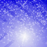 Fondo astratto di inverno Fotografia Stock