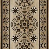 Fondo astratto di legno Fotografia Stock